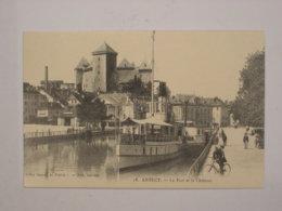 Annecy : Le Port Et La Château - Annecy
