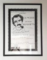 Affiche Encadrée Concert Hommage à Georges Brassens - Posters