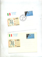 Aerogramme 850 Satellite   Neuf Fdc Illustré Colombo - Entiers Postaux