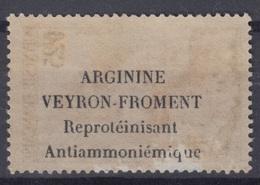 POLYNESIE : N° 2 AVEC PUB ARGININE VEYRON FROMENT AU VERSO NEUF GOMME COLONIALE - Polynésie Française