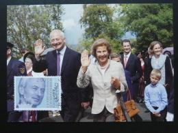 Carte Maximum Card Hans Adam Liechtenstein 2014 Ref 389 - Maximumkaarten
