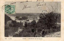 LYON - 644  0.2 - L'Ile-Barbe Vue De Caluire. 1904. RARE- Pas Sur Delcampe. - Bron
