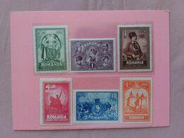 ROMANIA 1929 - 10° Anniversario Transilvania/Romania - Nn. 346/51 Nuovi * + Spese Postali - Unused Stamps