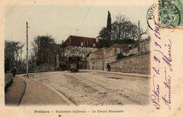 POITIERS - 653  0.2 - Boulevard Solférino- Le Grand Séminaire. 1903. - Poitiers