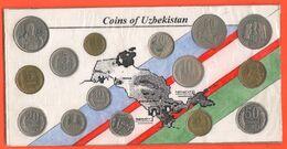 Uzbekistan 15 Monete / Souvenirs Tourists Token Ouzbékistan Usbekistan - Uzbekistan