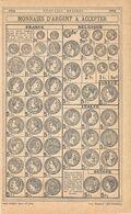 Monnaies D'argent A Accepter. Stampa 1923 - Prints & Engravings
