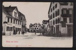 DG1104 - ZURICH - USTER - BIERBRAUEREI UND WEI SPEISEWIRTSCHAFT - ZH Zurich
