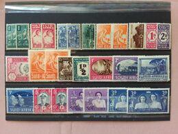 EX COLONIE INGLESI Anni '35/'50 - SUD AFRICA - Lotticino Nuovi * + Spese Postali - South Africa (...-1961)