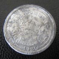 Jeton De Consommation 5 Centimes - Union Des Commerçants De Fourmies Et Trelon - 1921 - Aluminium - Firma's