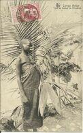 CONGO BELGE , Type De Femme De L' Aaruwimi , 1916 , CPA ANIMEE Avec Texte Codé Au Dos ( Voir Scans ) - Congo Belga - Otros