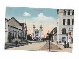 Cpa ARAD Unitus Templom - Romania