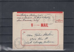 USA Michel Cat.No. Cover APO V... Mail - Briefe U. Dokumente