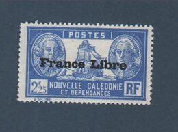 Timbre Nouvelle-Calédonie 2 F 25 N° 224 Gomme Charnière - Nuovi