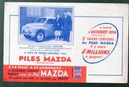 Buvard MAZDA : La 4CV RENAULT (sport)  (M0653) - Automotive