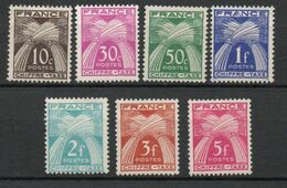 Type Gerbes, Légende Chiffre-Taxe - Yvert N° 67 68 69 70 72 73 75 Neufs ** - 1859-1955 Mint/hinged