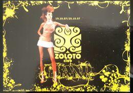 Zoloto Club Carte Postale - Advertising