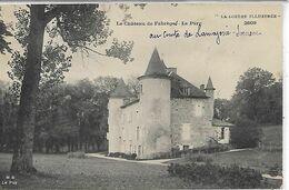 48, Lozère, CHATEAU DE FABERGE, Le Parc, Scan Recto Verso - Francia