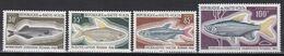 Obervolta Haute Volta 1969 - Mi.Nr. 263 - 266 - Postfrisch MNH - Tiere Animals Fische Fishes - Fishes