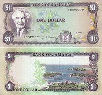 JAMAICA       1 Dollar       P-68Ad       1.1.1990       UNC - Giamaica