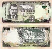 JAMAICA       100 Dollars       P-95d       1.6.2017       UNC - Giamaica