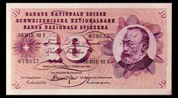 # # # Banknote Schweiz (Switzerland) 10 Franken 1974 UNC- # # # - Switzerland