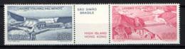 ITALIA - 1981 - IL LAVORO ITALIANO NEL MONDO: IMPIANTO IDROELETTRICO DI SAO SIMAO - SCHEMA IDRICO DI HIGH ISLAND - MNH - 1981-90: Ungebraucht