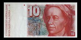 # # # Banknote Schweiz (Switzerland) 10 Franken 1983 UNC- # # # - Switzerland