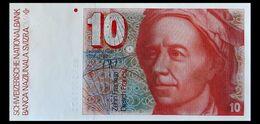 # # # Banknote Schweiz (Switzerland) 10 Franken 1983 UNC # # # - Svizzera