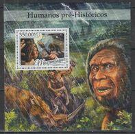 Mozambique 2016 Prehistory Prehistoire Homme Man MNH - Preistoria