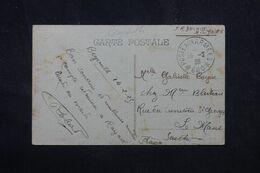 LEVANT FRANÇAIS - Oblitération Poste Aux Armées 600 Sur Carte Postale De Beyrouth En 1925 En FM Pour La France - L 68993 - Lettres & Documents
