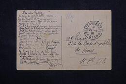 LEVANT FRANÇAIS - Oblitération Poste Aux Armées 615 Sur Carte Postale En FM En 1926 Pour La France - L 68996 - Lettres & Documents