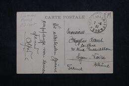 LEVANT FRANÇAIS - Oblitération Poste Aux Armées 610 Sur Carte Postale De Jérusalem En 1927 Pour La France - L 68997 - Lettres & Documents