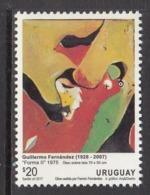 2018 Uruguay Fernandez Art Paintings   Complete  Set Of 1 MNH - Uruguay