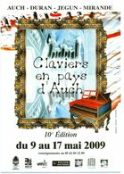 CC °_ Claviers En Pays D' Auch - 2009 - Musik Und Musikanten