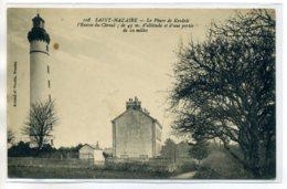 44 ST SAINT NAZAIRE 108 Artaud- Carte RARE Phare De KERDELE Entrée CHenal écrite 14 Juillet 1916  /D04-S2017 - Saint Nazaire