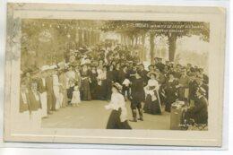 87 LIMOGES Carte RARE Photo JOVE 7- Le Chanteur Ambulant Kermesse De La Clef Des Champs -écrite 1910   /D19-S2017 - Limoges
