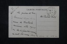 LEVANT FRANÇAIS - Oblitération Poste Aux Armées 608 + Griffe Secteur 606 Sur Carte Postale De Baalbeck En 1927 - L 69000 - Lettres & Documents