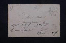LEVANT FRANÇAIS - Oblitération Poste Aux Armées 615 Sur Enveloppe En 1925 Pour La France - L 69002 - Lettres & Documents