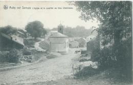 Auby Sur Semois - L'Eglise Et Le Quartier Au Trou Chemineau - Nels Serie 40 No 273 - 1911 - Bertrix