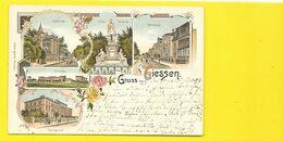 GIESSEN Gruss Litho. 1897 () Allemagne - Giessen