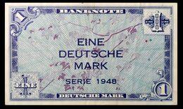 # # # Banknote Germany (BRD) 1 Mark 1948 # # # - [ 7] 1949-… : RFD - Rep. Fed. Duitsland