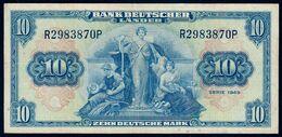 # # # Banknote Germany (BRD) 10 Mark 1949 # # # - 10 Deutsche Mark