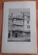Vieille Maison à Lannion (Collographie Géniaux Frères) - Bretagne