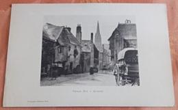 Vieille Rue à Quimper (Collographie Géniaux Frères) - Bretagne