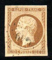 YT N° 9a Signé Brun Et Calves - Cote: 950,00 € - 1852 Louis-Napoléon