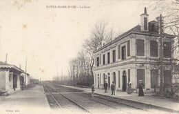 Indre-et-Loire - Notre-Dame-d'Oe - La Gare - Francia