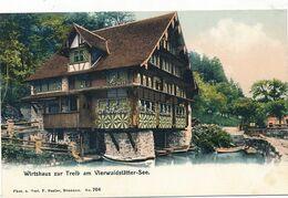 CPA-20383-- Suisse - Wirtshaus  Zur Treib Am Vierwaldstättersee-Envoi Gratuit - SZ Schwyz