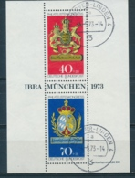 Duitsland/Germany/Allemagne/Deutschland 1973 Mi: Block 9 (Gebr/used/obl/o)(5356) - Blocs