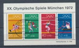 Duitsland/Germany/Allemagne/Deutschland 1972 Mi: Block 8 (Gebr/used/obl/o)(5355) - Blocs