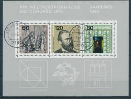 Duitsland/Germany/Allemagne/Deutschland 1984 Mi: Block 19 (Gebr/used/obl/o)(5360) - Blocs